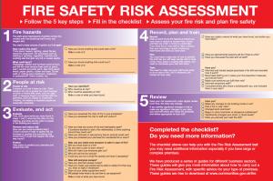 Fire Risk Assessment template